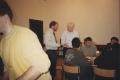II edycja PASB, Andrzej Szczęśniak dyskutuje strategię firmy z dr Fergussonem, School of Business, CCSU