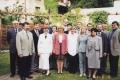 Absolwenci PASB z wykładowcami w 2001 roku