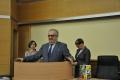 przemawia prof. Zdzisław Szalbierz (Dziekan Wydziału Informatyki i Zarządzania)